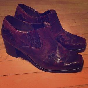 D'Miltoni vintage leather ankle boot
